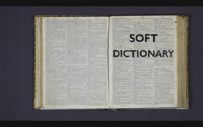 Soft Dictionary by William Kentridge