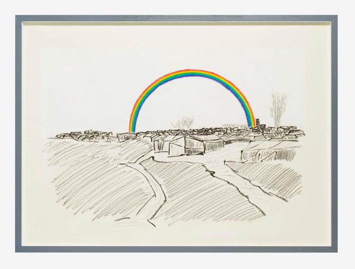 Histoire et destin - New Man's Land (Rainbow) by Gian Maria Tosatti