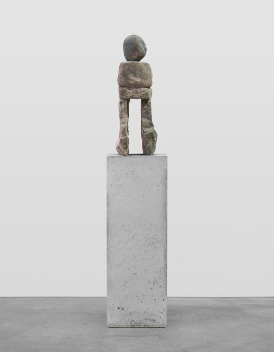 the contemplative by Ugo Rondinone