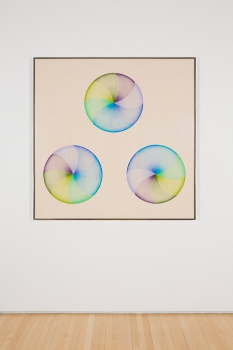 Large Dome Drawing #1 by Judy Chicago