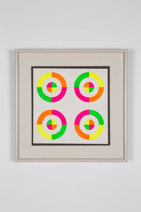 Optical Shapes #7 by Judy Chicago