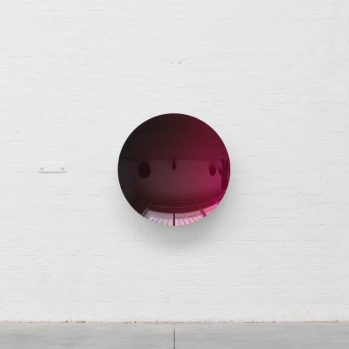 Untitled (Black to Magenta) by Anish Kapoor