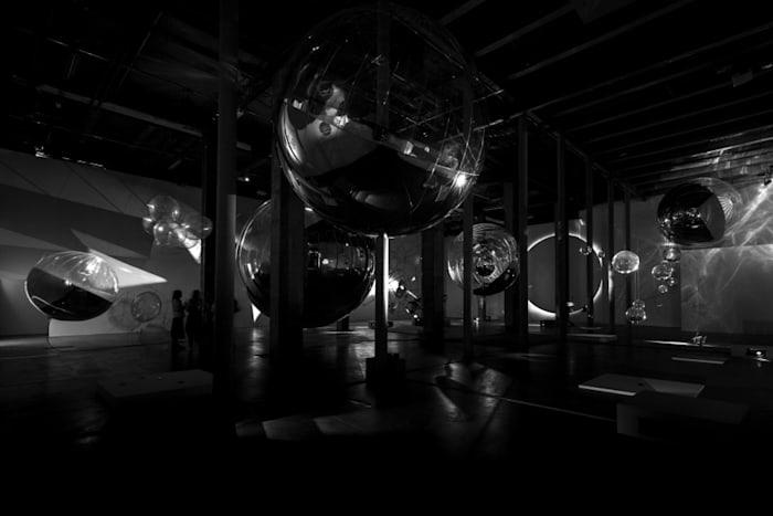 Tomás Saraceno's Theater of Shadows installation A Thermodynamic Imaginary by Tomás Saraceno