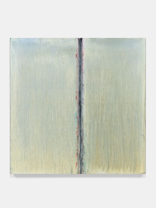White Moon Abyss by Pat Steir