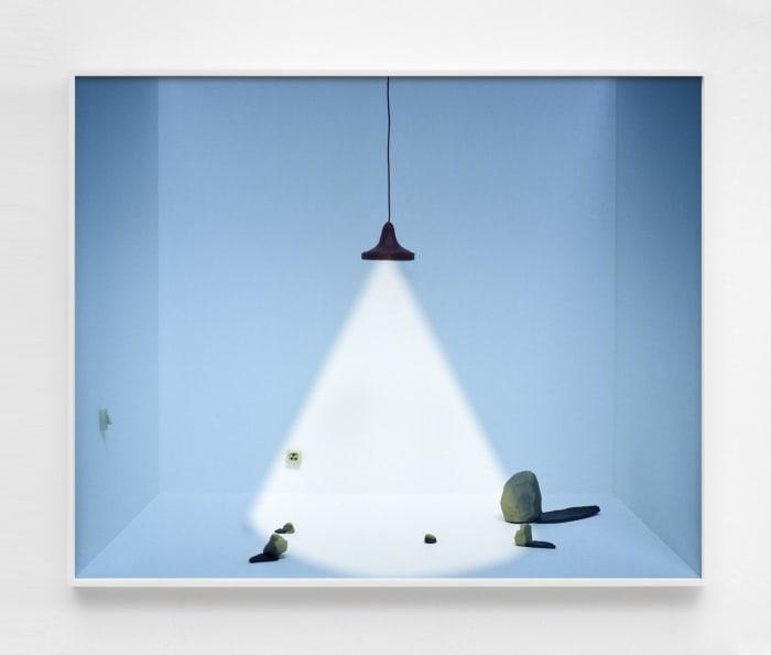 Untitled (lamp) by João Maria Gusmão + Pedro Paiva