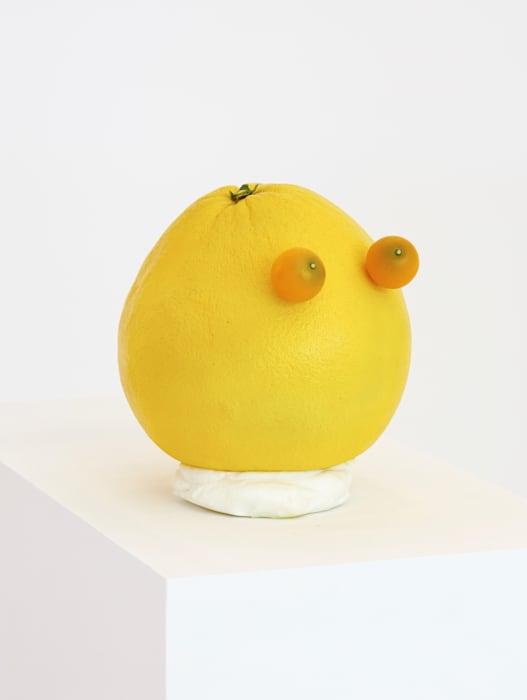 Orange head by João Maria Gusmão + Pedro Paiva