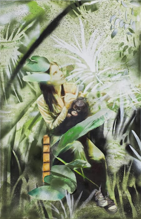 Studying in the Borneo Jungle by Paulina Olowska