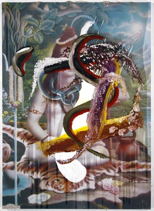 Eddie Stern by Julian Schnabel