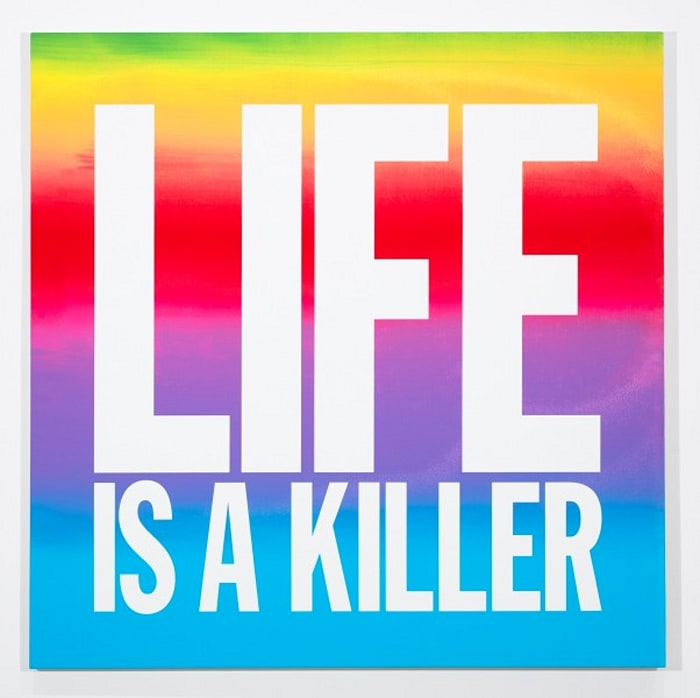 LIFE IS A KILLER by John Giorno