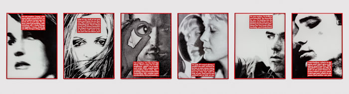 Untitled (Project for Dazed and Confused) by Barbara Kruger