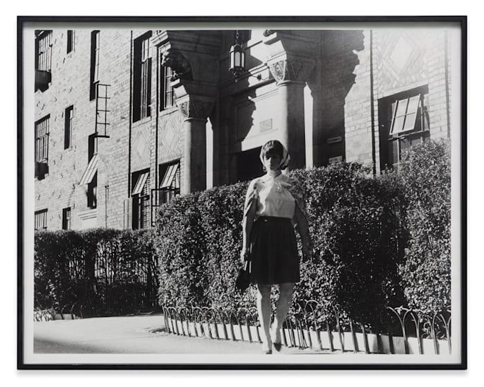 Untitled Film Still #18-A by Cindy Sherman