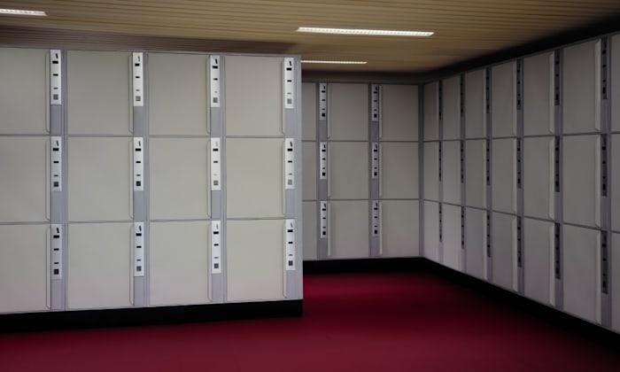 Lockers by Thomas Demand
