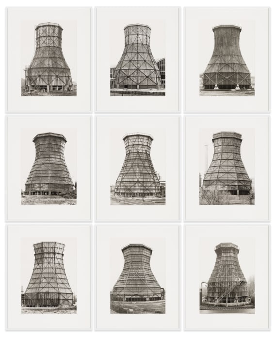 Cooling Towers by Bernd & Hilla Becher