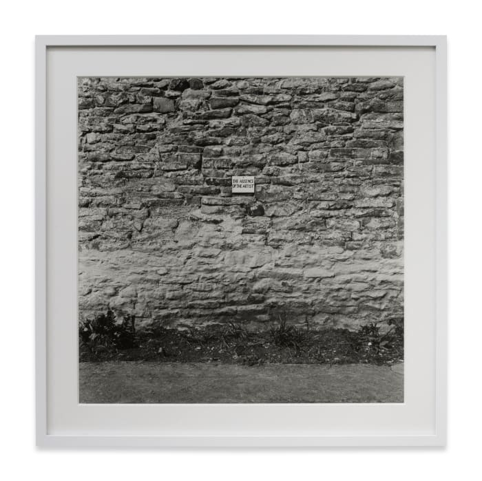The Absence of the Artist by Keith Arnatt