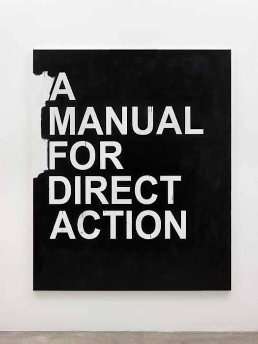 A Manual for Direct Action (black) by Gardar Eide Einarsson