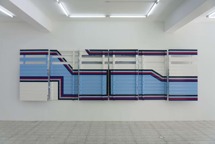 Construcción geométrica No. 05 by Darío Escobar