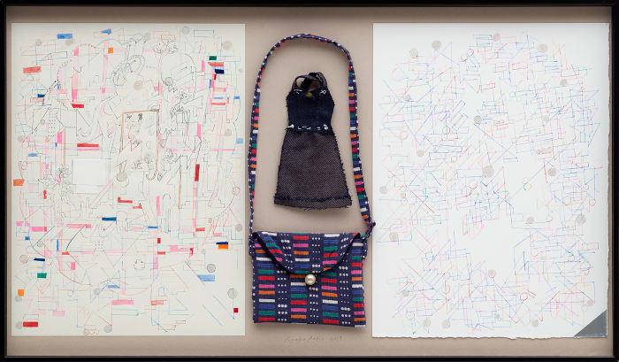 Dress becomes bag, bag becomes dress by Ryoko Aoki