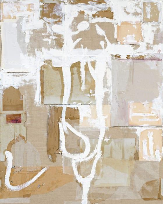 Time Memory/White Vestige 1 by Shinro Ohtake