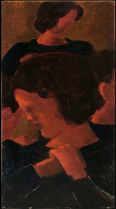 """""""Vier Frauen"""" by Oskar Schlemmer"""