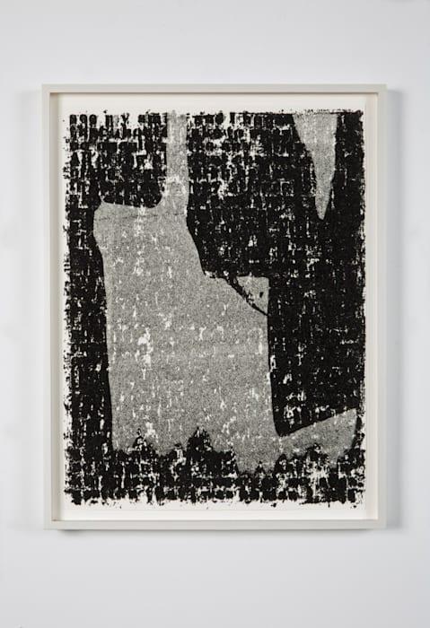 Mirror II Drawing #23 by Glenn Ligon