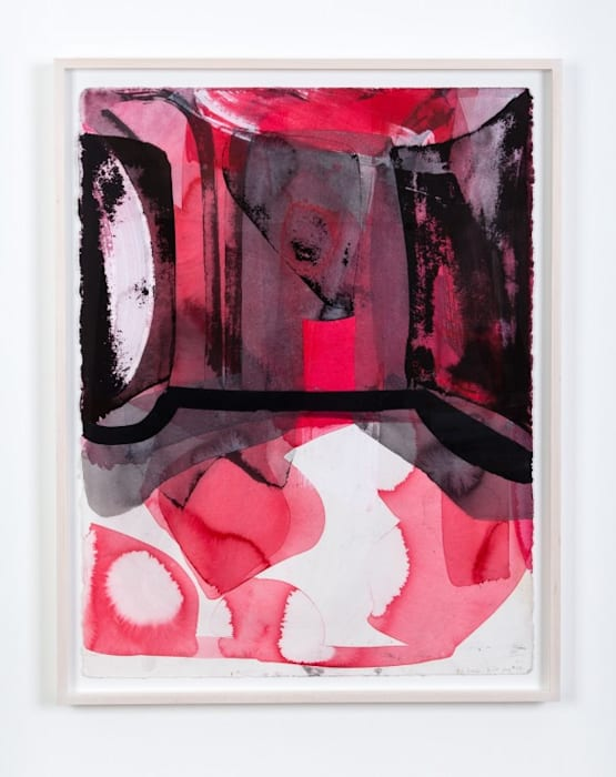 Pink Drawing #37 by Amy Sillman