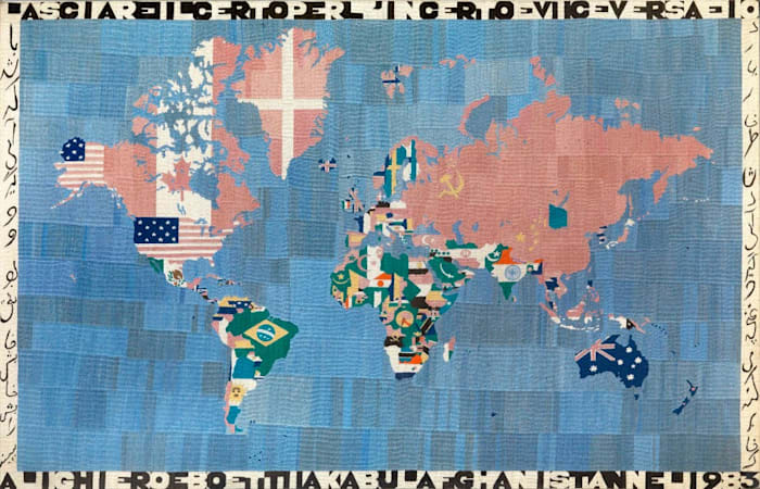 Mappa by Alighiero Boetti