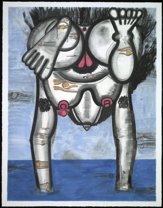 Untitled (July 30, 2014) by Carroll Dunham