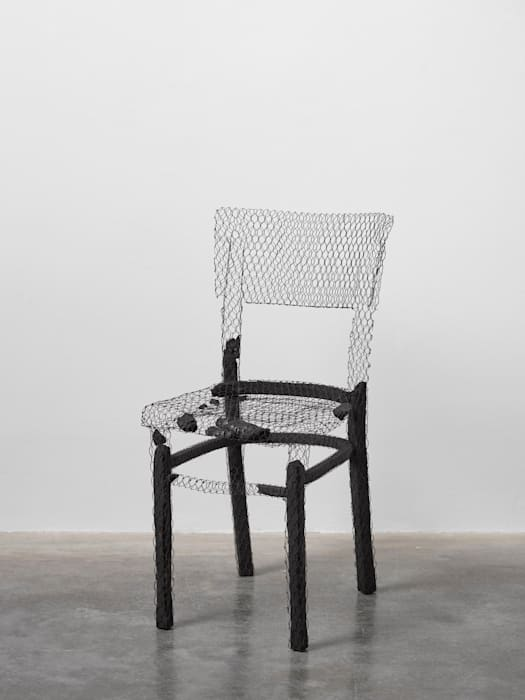 Remains (chair) I by Mona Hatoum