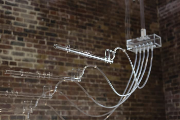 Interlude (A=D=R=I=F=T) by Cerith Wyn Evans