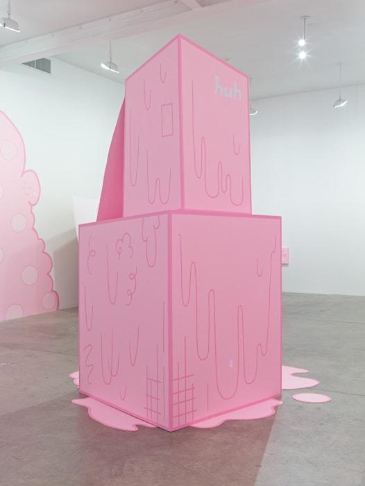 Huh 1 by Lily van der Stokker