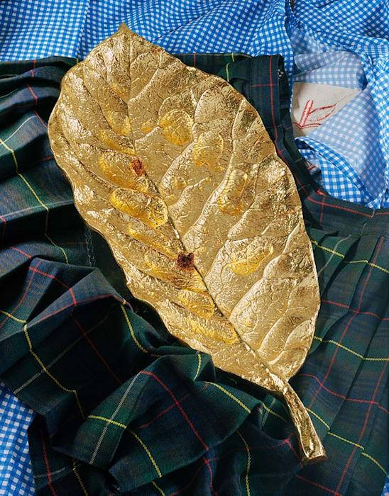 Golden Leaf by Torbjørn Rødland