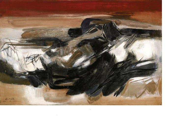 Abstract No. 82 by Chu Teh Chun