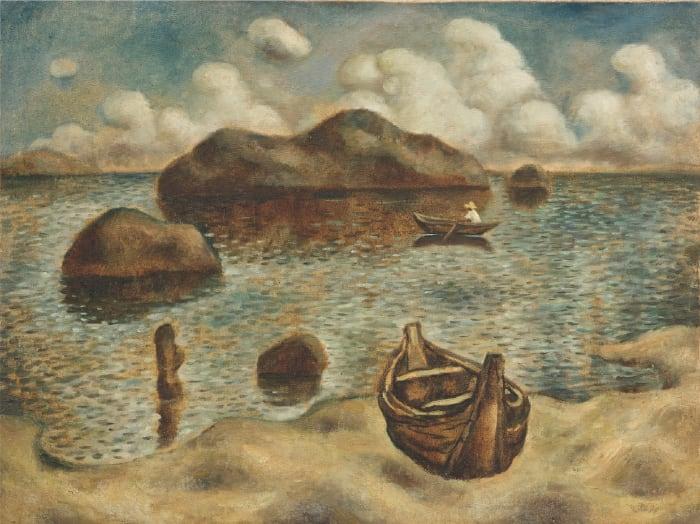 Landscape guishan series by Mao Xu-Hui
