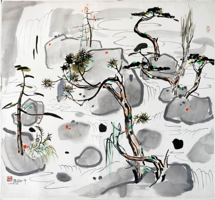 Sea of Landscape by Wu Guan Zhong