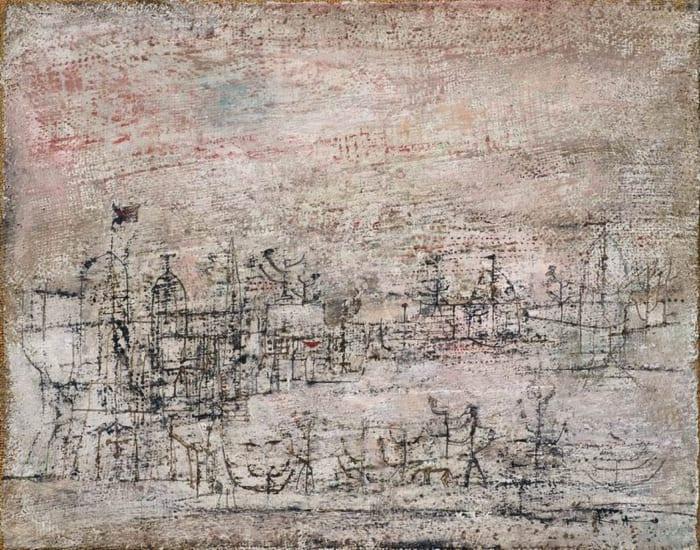 Landscape by Zao Wou-Ki