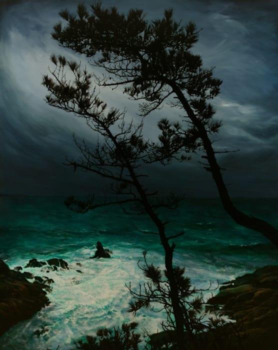 Pine Tree by Sung-Hun Kong