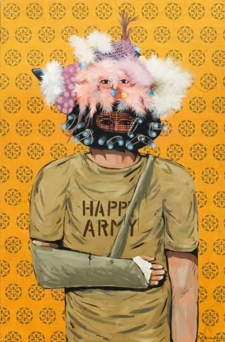 Happy Army by Eko Nugroho