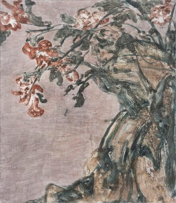 Flower and Stone by Yabin Wang