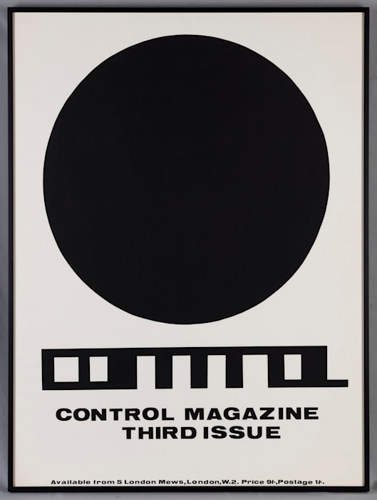 CONTROL Poster by Stephen Willats
