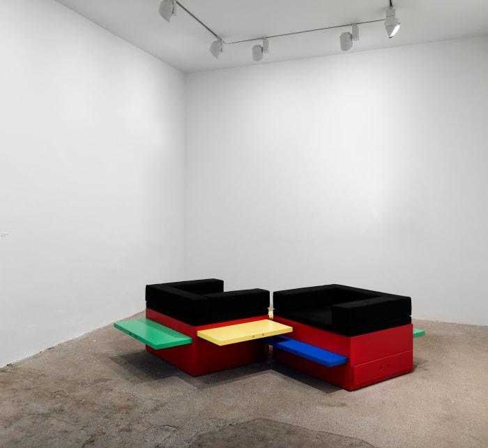 Corree self organising furniture by Stephen Willats