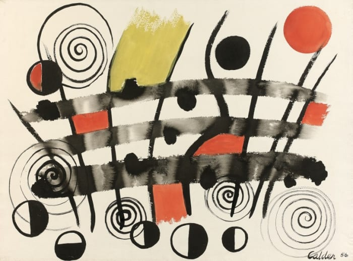 Composition by Alexander Calder