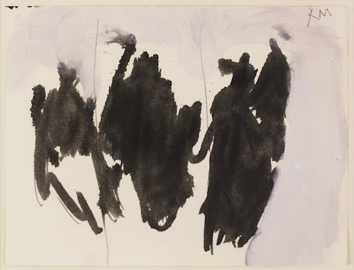 Brush Elegy by Robert Motherwell
