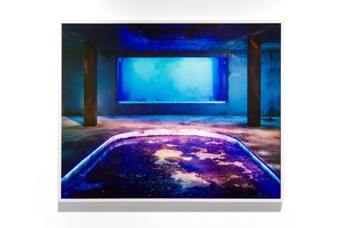 Dance Hall (Blueness) by Chen Wei