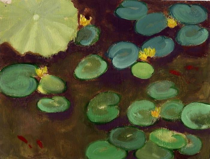 Water Lily by Zheng Ziyan