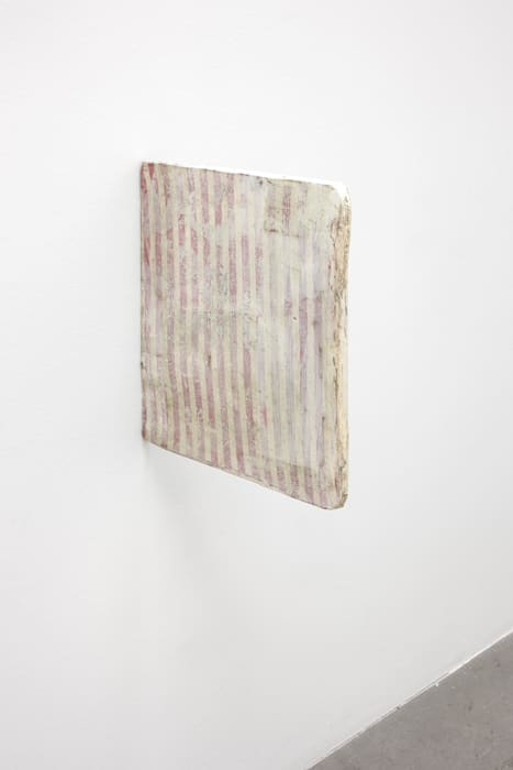 Untitled (page painting) by Lawrence Carroll