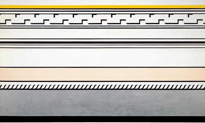 Entablature by Roy Lichtenstein