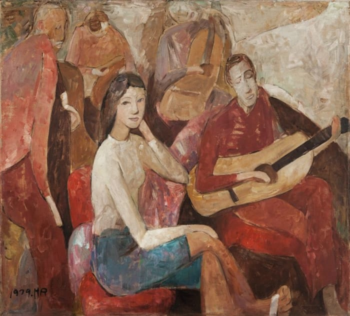 The Guitar's Story by Huang Rui