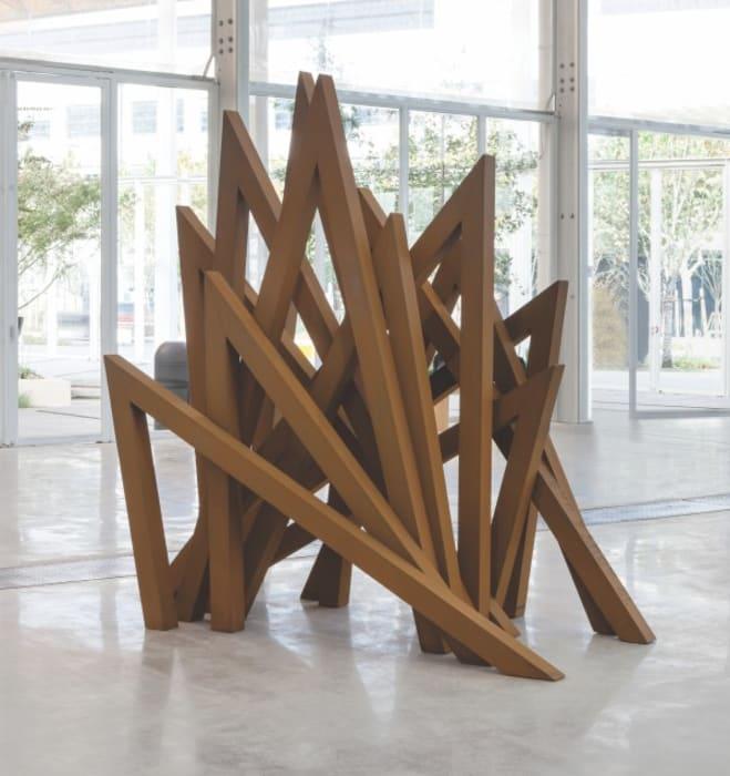 12 Acute Unequal Angles by Bernar Venet