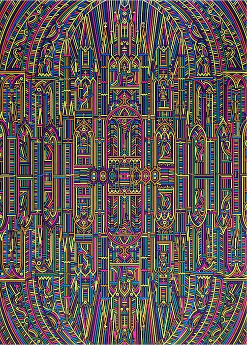 Reflections-Cathédrale Notre Dame de Paris No. 3 by Lu Xinjian