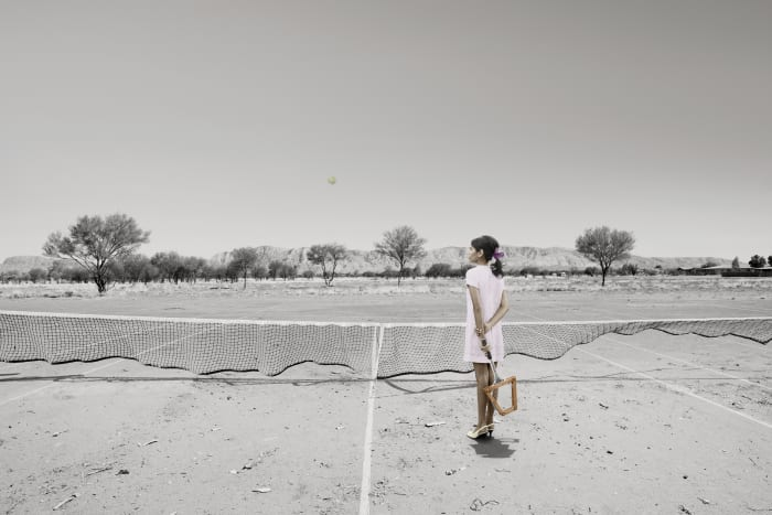 Mother (Tennis) by Michael Cook